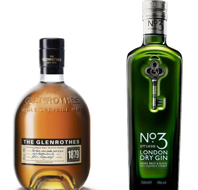 No3 London Dry Gin / The Glenrothes